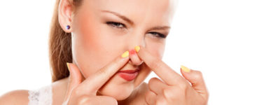 Причины возникновения фурункула носа