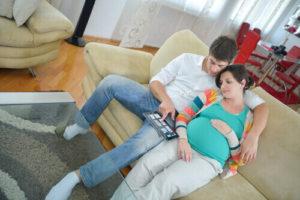 беременной женщине важна поддержка близких