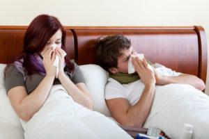 Насморк отрицательно влияет на личную жизнь