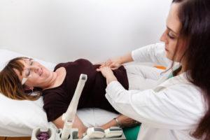 Гинекологический осмотр матки