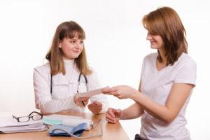 Подготовка к гинекологическому осмотру