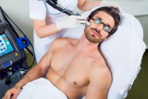 Диодная лазерная эпиляция волос