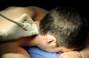 УЗИ грудного отдела позвоночника